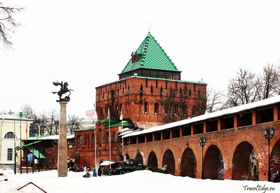 Дмитриевская (Дмитровская) башня в Нижнем Новгороде