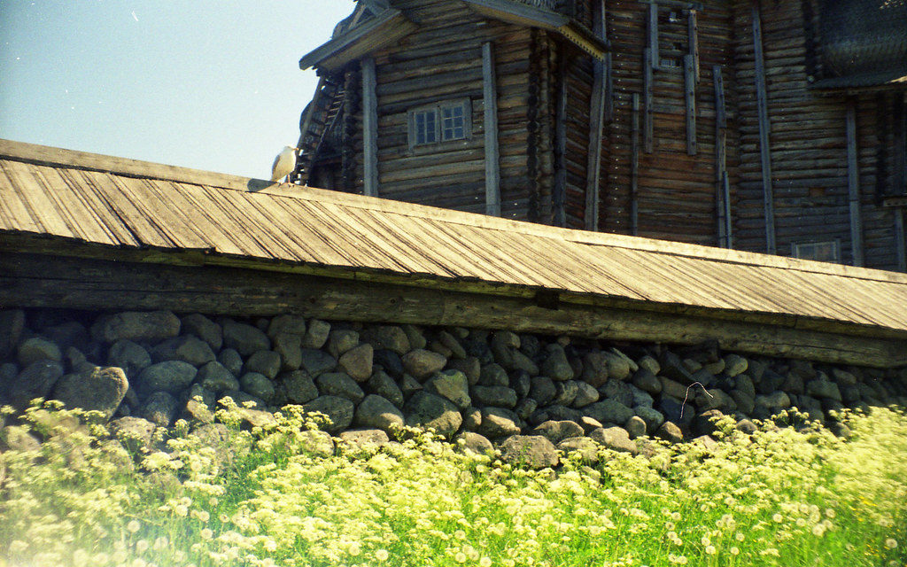 Шатровая колокольня, Кижи, Карелия