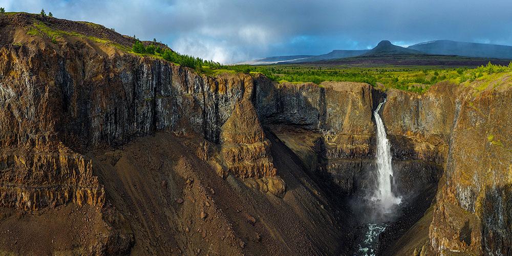 Кандинский водопад, плато Путорана, Красноярский край