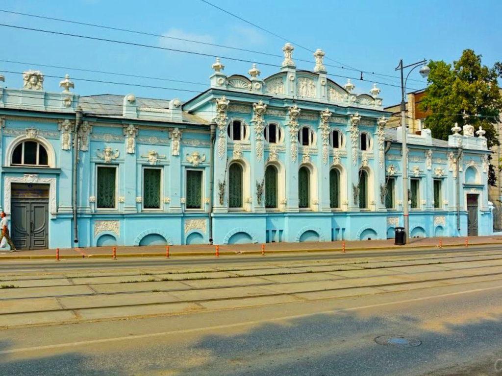 Дом купца Грибушина, Кунгур, Пермский край
