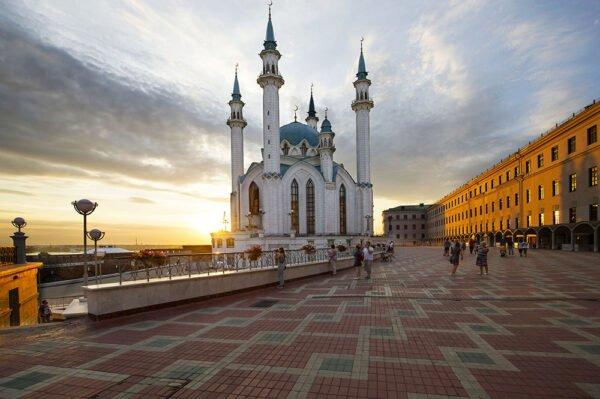 Казанский кремль, республика Татарстан