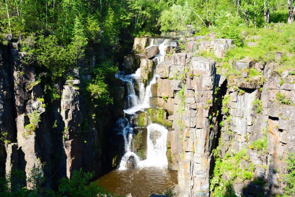 Уковский водопад, Саяны