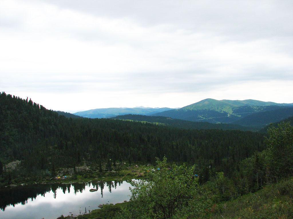 Лазурное озеро, Саяны