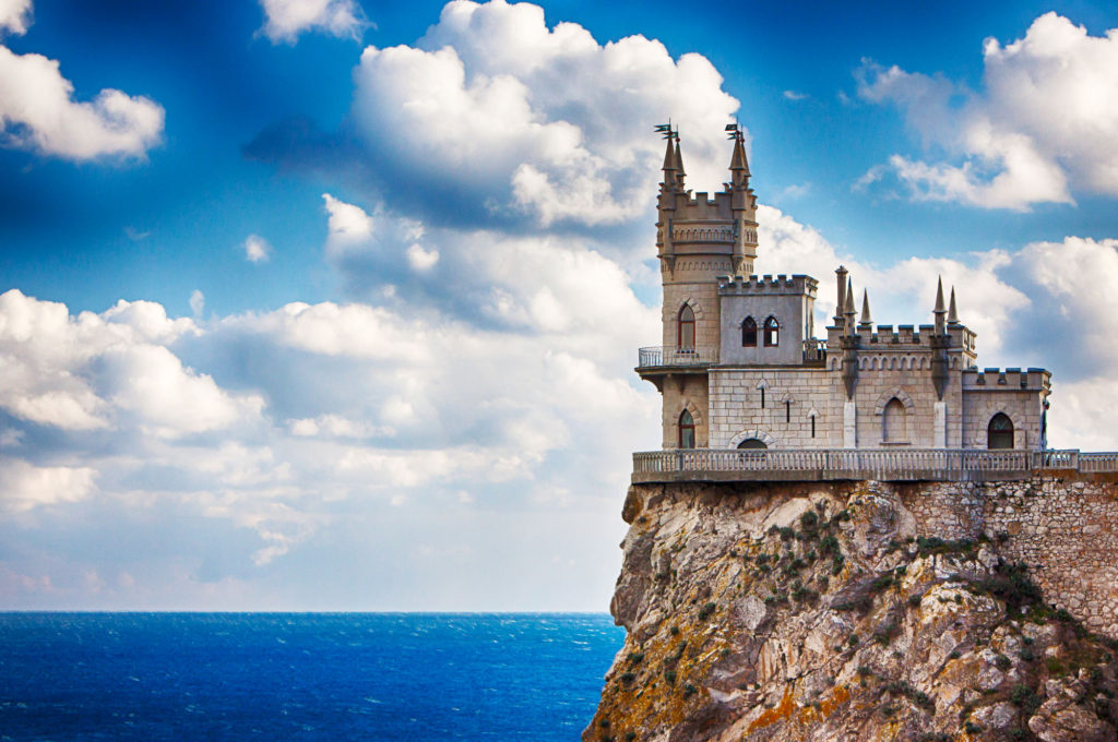 Ласточкино гнездо, Крым