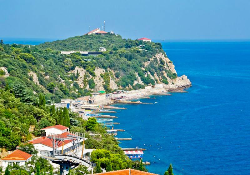 Поселок Гаспра, Крым