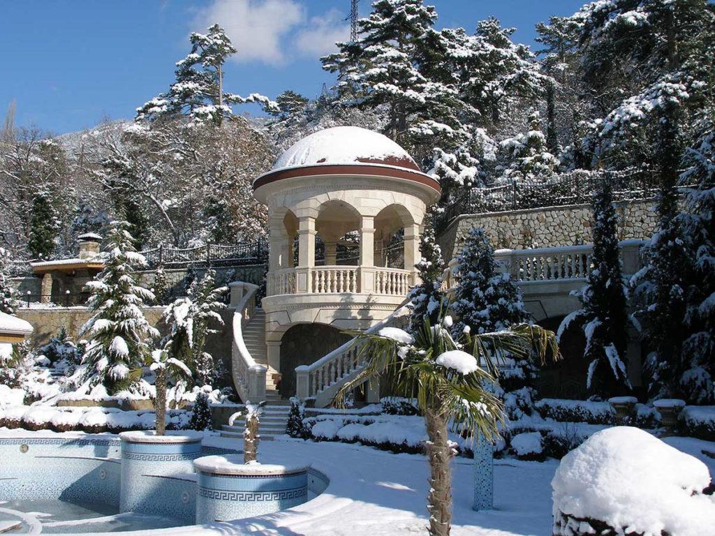 Крым. Зима