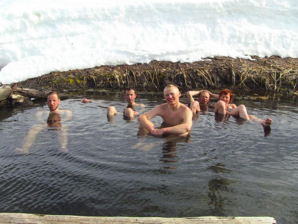 Вилючинские термальные источники, Камчатка