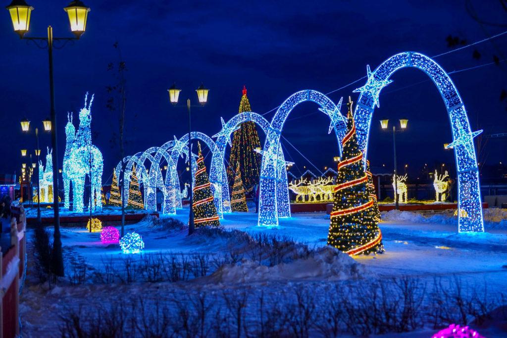 Казань, Новый год