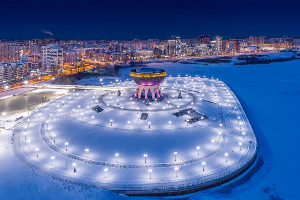 Казань. Зима