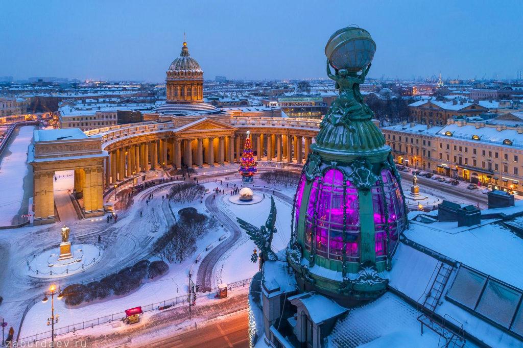 Санкт- Петербург. Зима