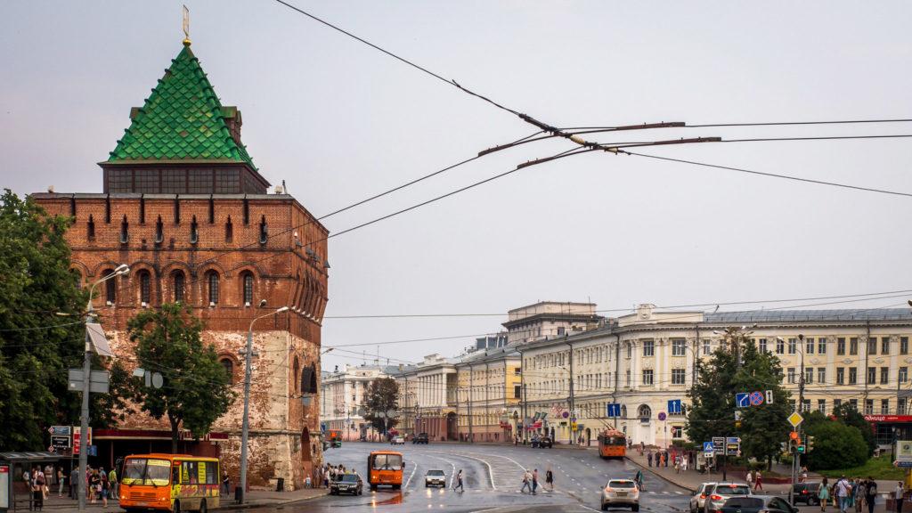 Нижегородский кремль, Нижегородская область