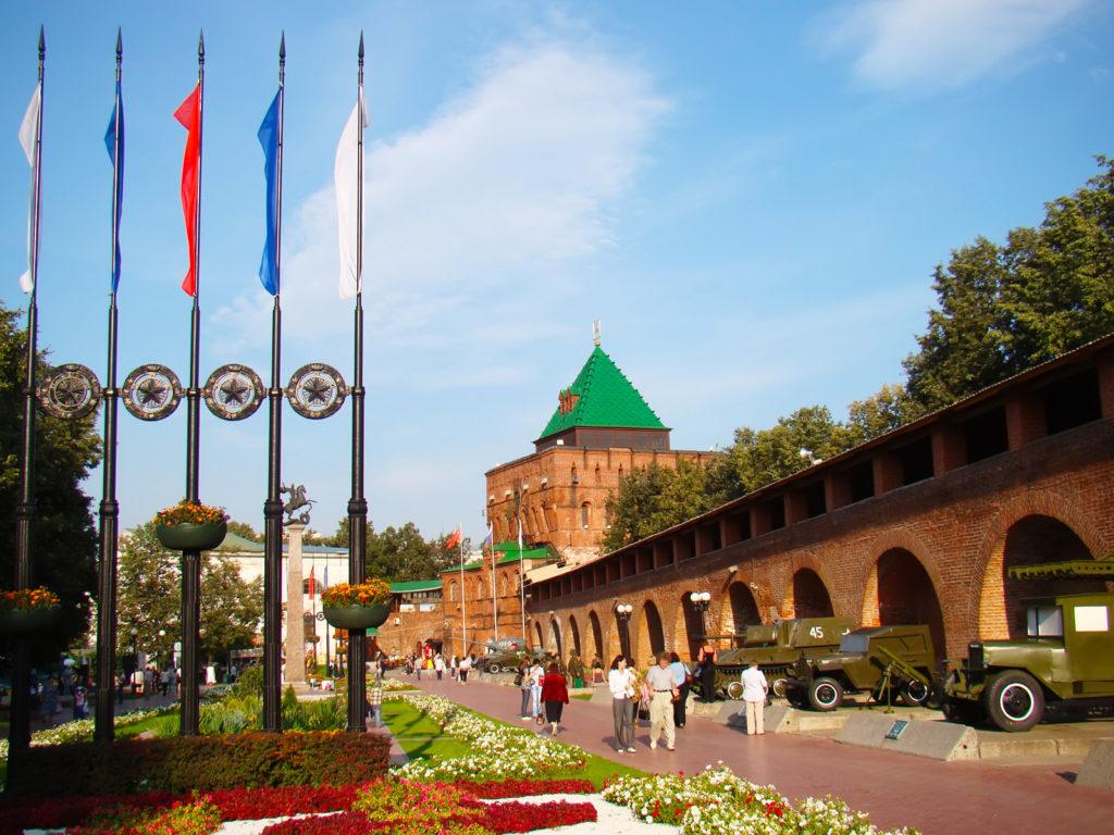 Нижегородский кремль, Нижегородская область, Дмитриевская башня