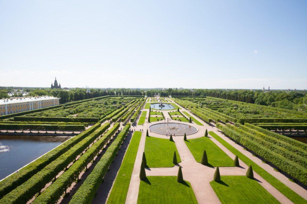 Верхний сад, Петергоф
