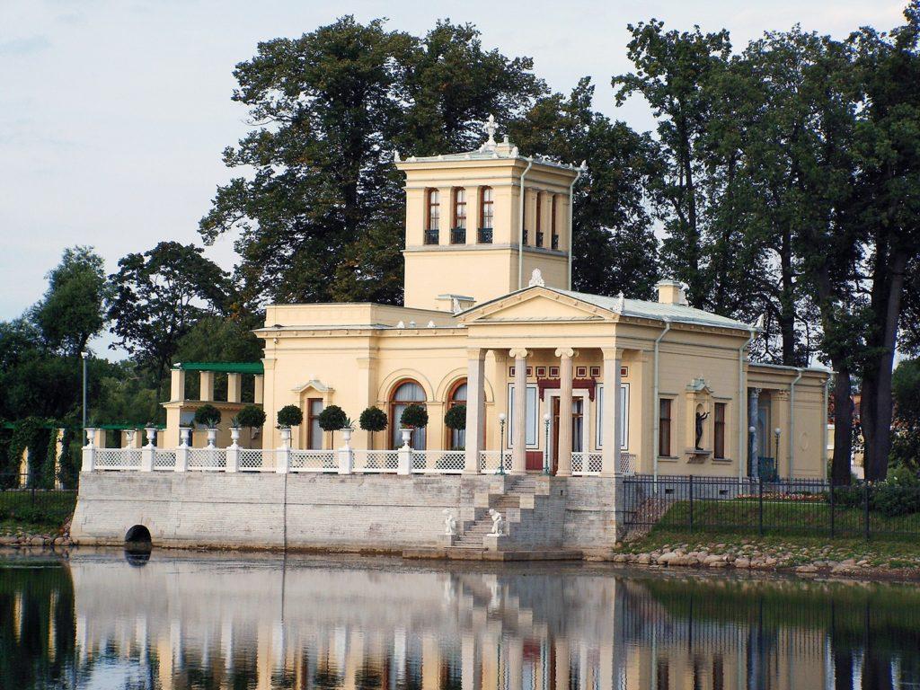 Царицын павильон, Петергоф