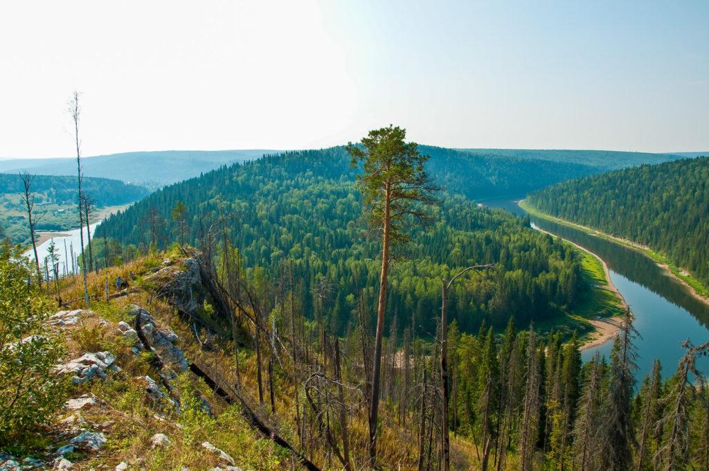 Река Чусовая, Урал