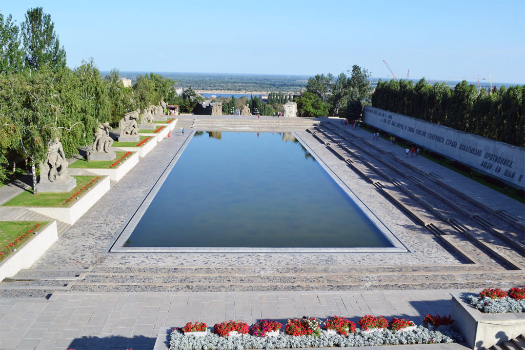 Площадь героев, Мамаев курган, Волгоград