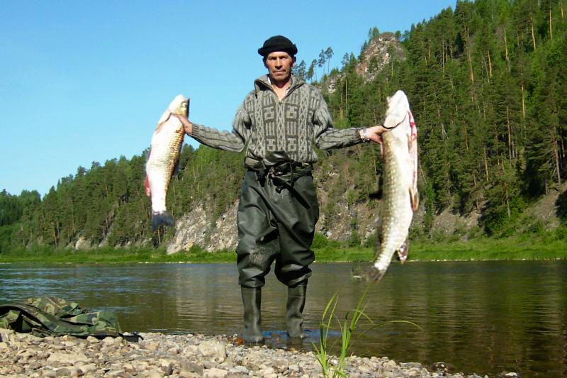 Рыбалка на Чусовой