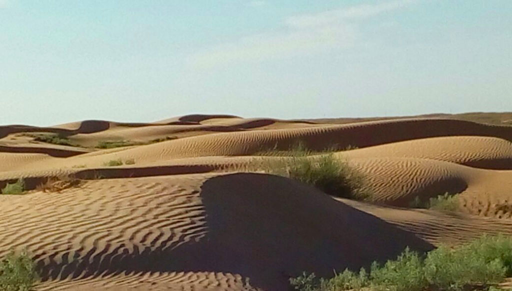 Пустыня Рын-пески, Астраханская область