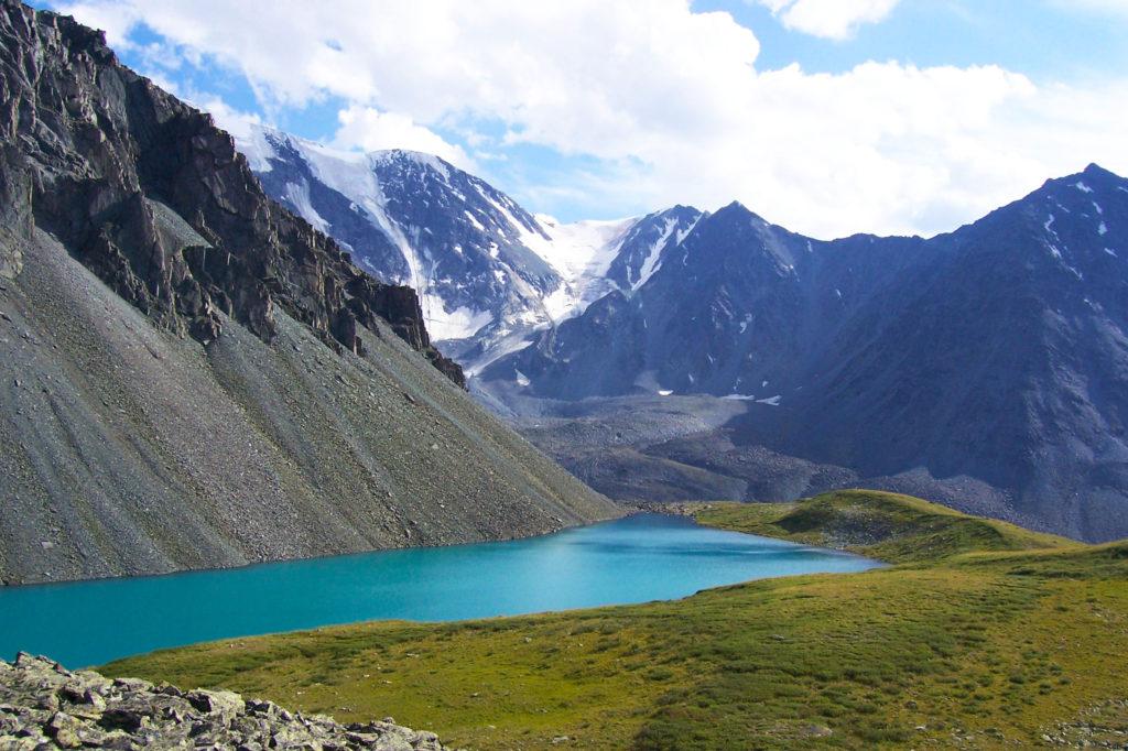 Синее озеро, республика Алтай