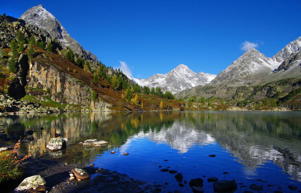 Озеро Дарашколь, республика Алтай