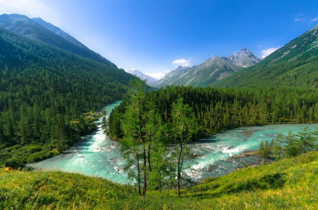 Кучерлинское озеро, республика Алтай