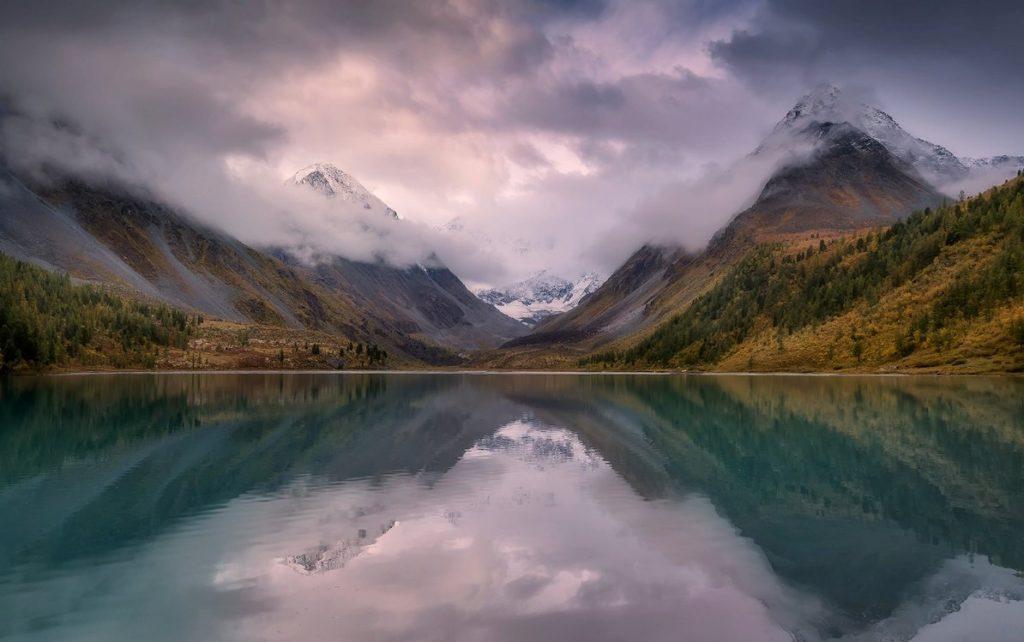 Аккемское озеро, республика Алтай