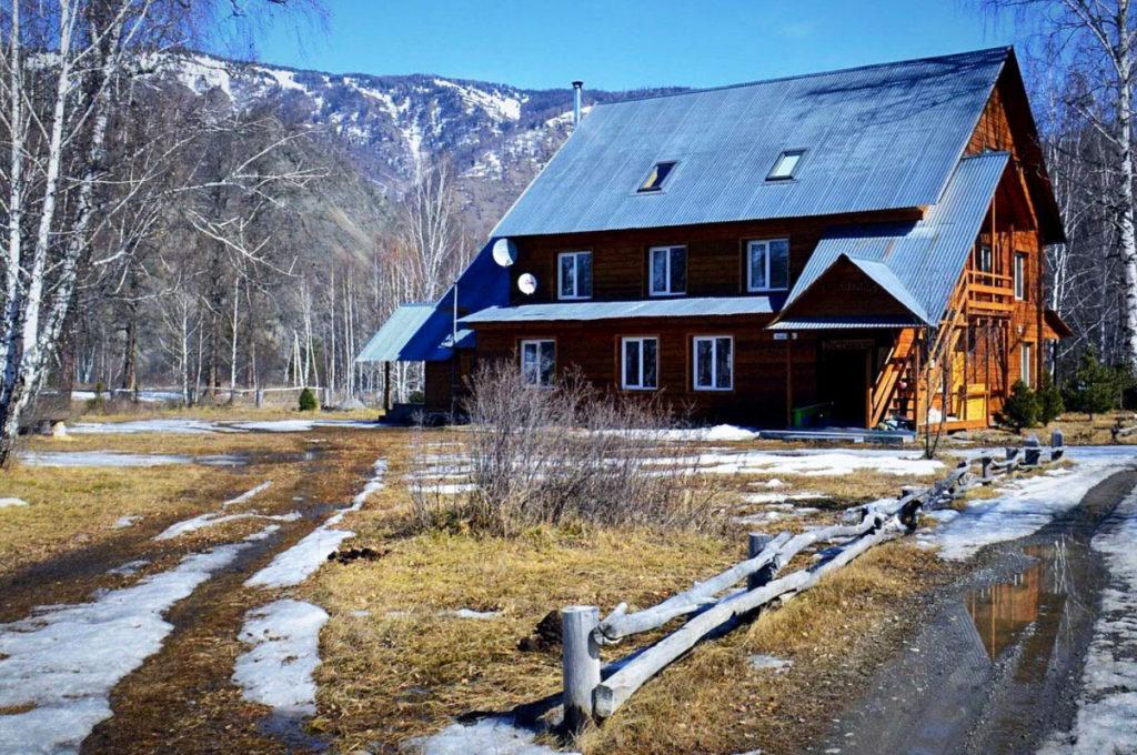 База отдыха, с. Тюнгур, республика Алтай