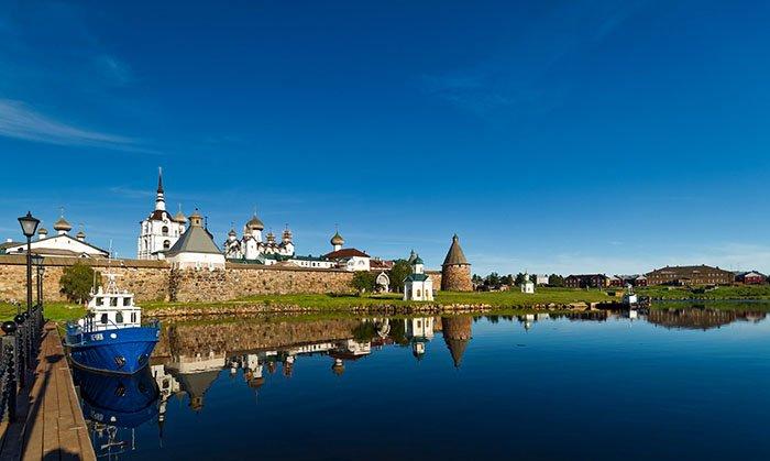 Соловецкий монастырь, Соловецкие острова