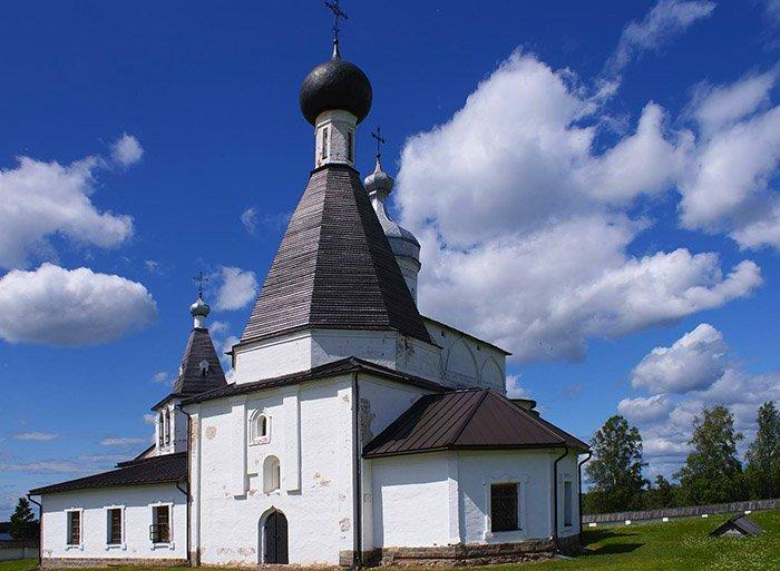 Церковь преподобного Мартиниана, Ферапонтов монастырь, Вологодская область