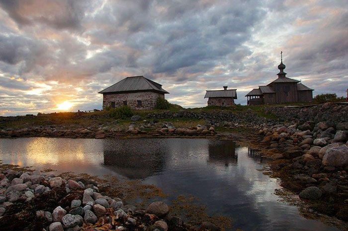 Большой Заяцкий остров, Соловецкие острова