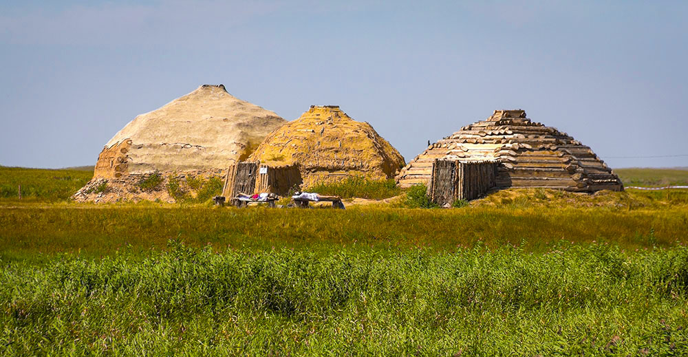 Жилища каменного века, Аркаим, Челябинская область