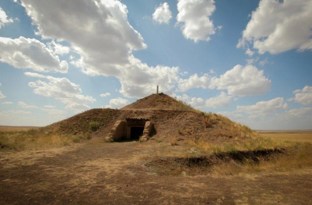 Курган «Темир», Аркаим, Челябинская область