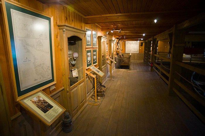 Соловецкий морской музей, Соловецкие острова