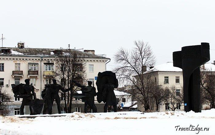 Памятник героям Великой Отечественной войны, г. Бор, Нижегородская область