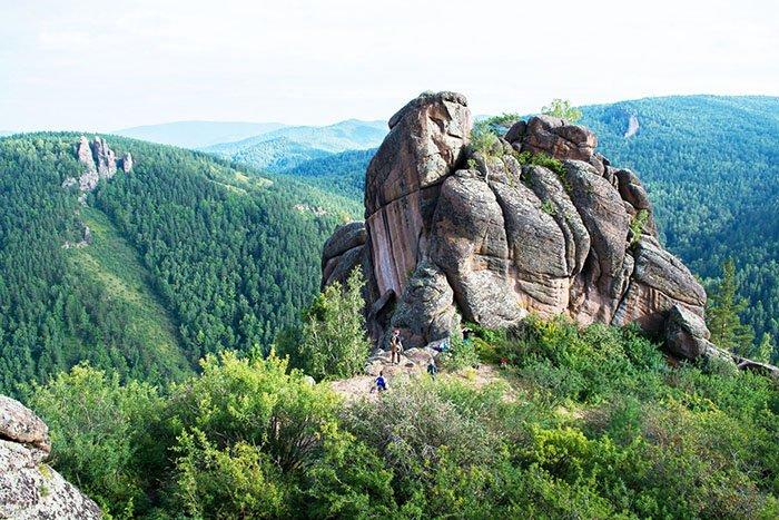 """Природный парк """"Красноярские столбы"""", Красноярский край"""