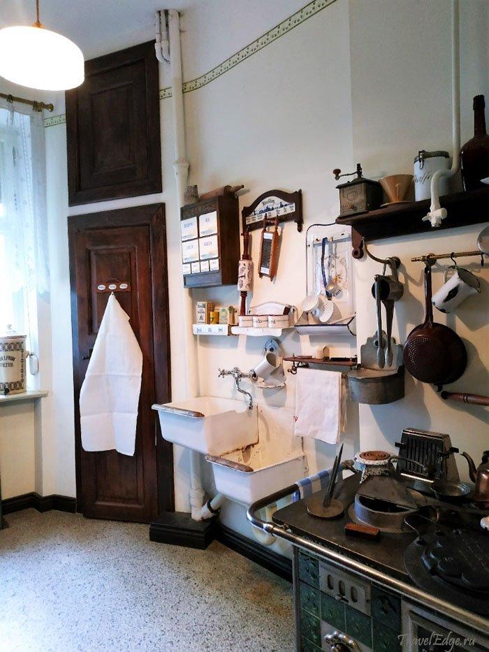 Кухня в музее Altes Haus, Калининград