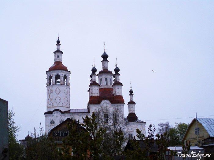 Музей мореходов во Входоиерусалимской церкви с колокольней, Тотьма, Вологодская область