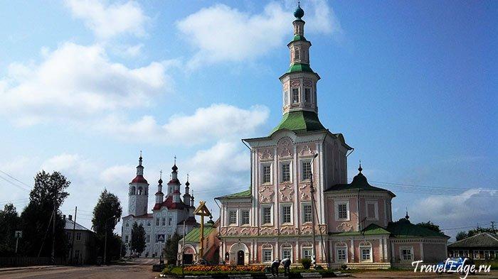 Действующая Церковь Рождества Христова, Тотьма, Вологодская область