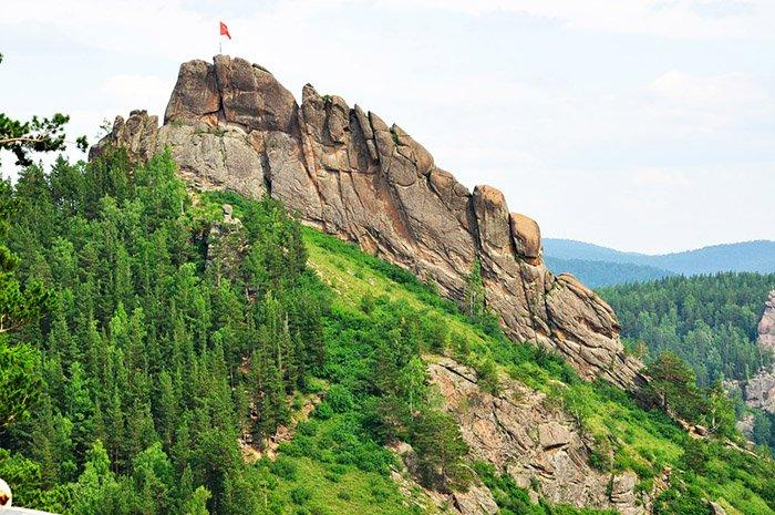 Гора Такмак, заповедник Красноярские столбы