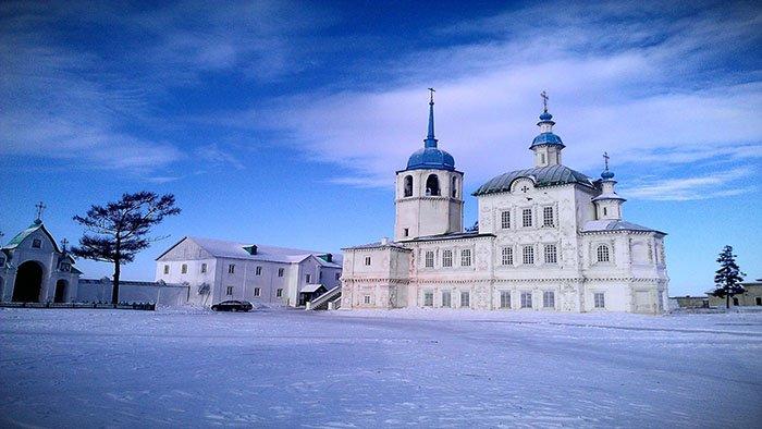 Посольский Спасо-Преображенский монастырь, Байкал