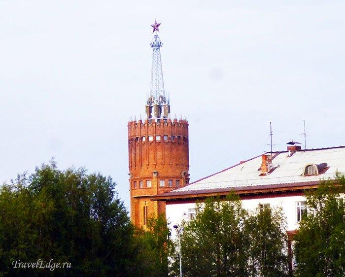 Бывшая водонапорная башня, г. Инта, республика Коми