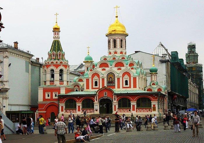 Казанский собор, Красная площадь, Москва