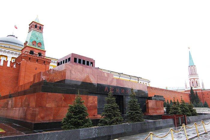 Мавзолей В. И. Ленина, Красная площадь, Москва