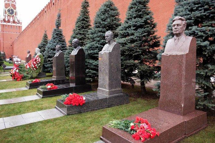 Некрополь у Кремлёвской стены, Красная площадь, Москва