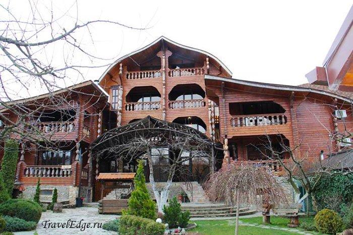 Отель «Терем у реки», республика Адыгея