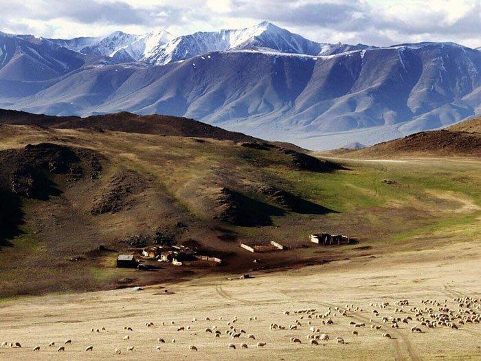 Кластер Монгун-Тайга, Убсунурская котловина, республика Тыва.