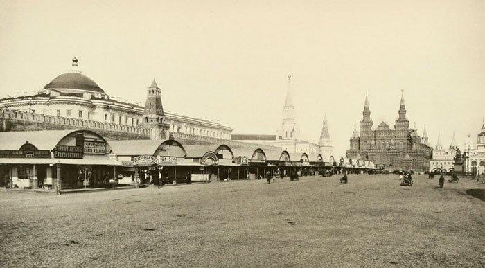 Красная площадь, Москва. Старинное фото