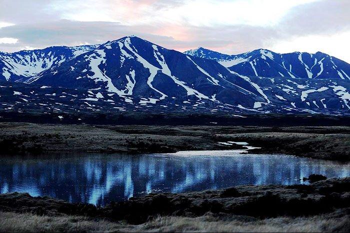 Озеро Убсу-Нур, Убсунурская котловина, республика Тыва