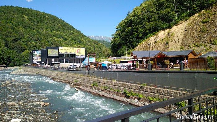 Река Мзымта, Роза Хутор, Сочи