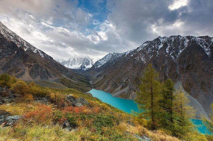 Нижнее Шавлинское озеро, Горный Алтай